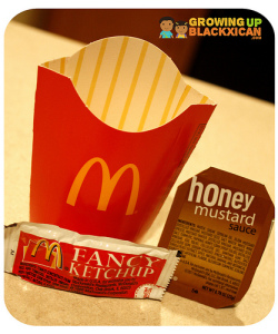 McD new Happy Meal size kids fries packaging