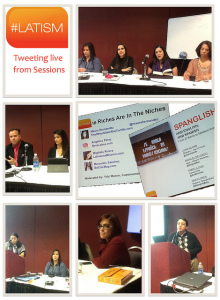 Live tweeting from LATISM'11