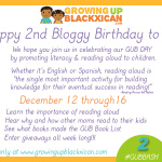 Happy 2nd Bloggy Birthday to us!