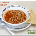 Macaroni Soup with Mazola Sobrecitos #giveaway