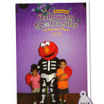 Halloween time at Sesame Place