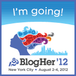 I'm going to blogher '12