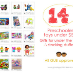 GUB kid gifts: 14 preschooler toys under $50