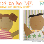 Proud to be me Self Identity Craft #GUBMixedHeritage