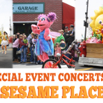 Let's Dance and Sing at Sesame Place