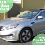 Budget Friendly KIA Optima Hybrid #EcoFriendlyConKIA