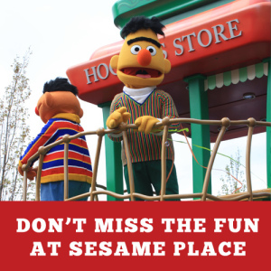 dont miss the fun at sesame place