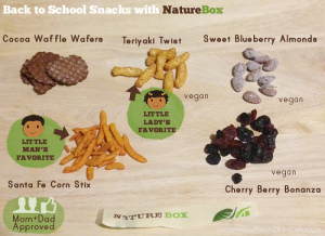 backtoschool with naturebox- mom and dad approved