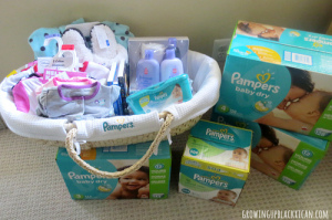 pampers gift of sleep building our basket