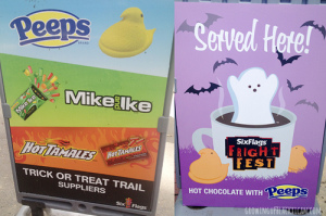 six flags fright fest treats