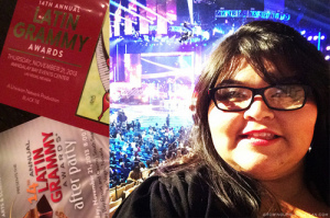 I expierenced the Latin Grammys in las vegas