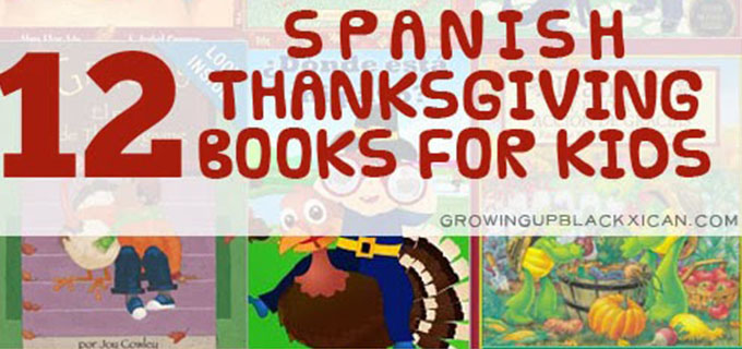 12 Spanish Thanksgiving Books for Kids