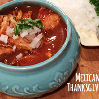 turkey birria with thanksgiving leftovers