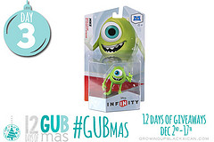 GUBmas Day Three giveaway- disney infinity mike