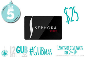 day five giveaway_sephora gift card