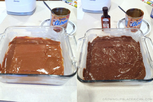 Peppermint ChocoFlan _cajeta then cake mix