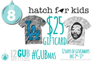 day eight giveaway_Hatch for kids giftcard