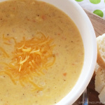 Winter Recipe: Cheddar Cauliflower Corn Chowder