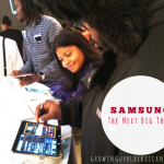 Hands on with Samsung #TheNextBigThing