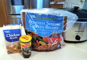 easy slow cooker chicken mole_ ingredients