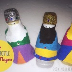 DIY Reyes Magos Plastic Bottle Craft for Kids
