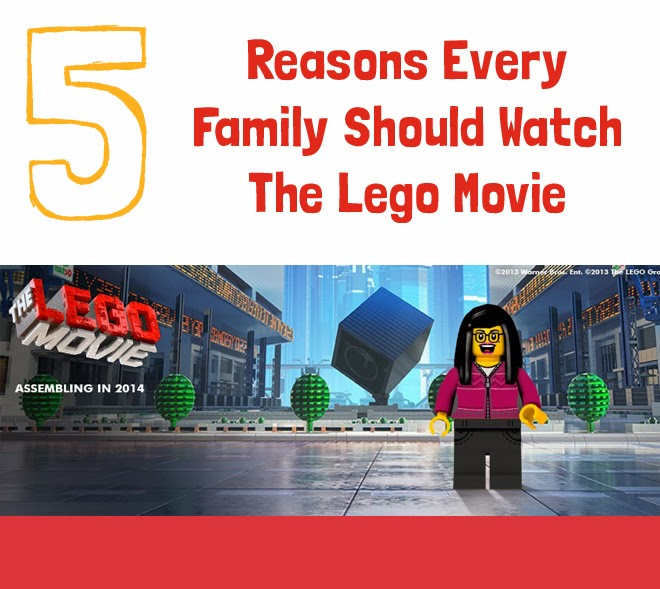 5 Reasons Every Family Should Watch The Lego Movie - GUBlife