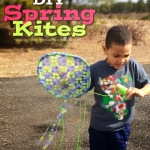 DIY Spring Break Craft: Spring Kites