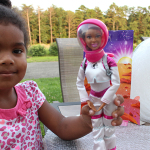 Moon Exploring with NASA Barbie #BarbieProject
