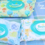 New Pampers Wipes Designs + Giveaway