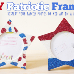 Labor Day Decor- DIY Patriotic Frames