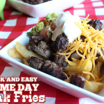 Quick and Easy Game Day Steak Fries