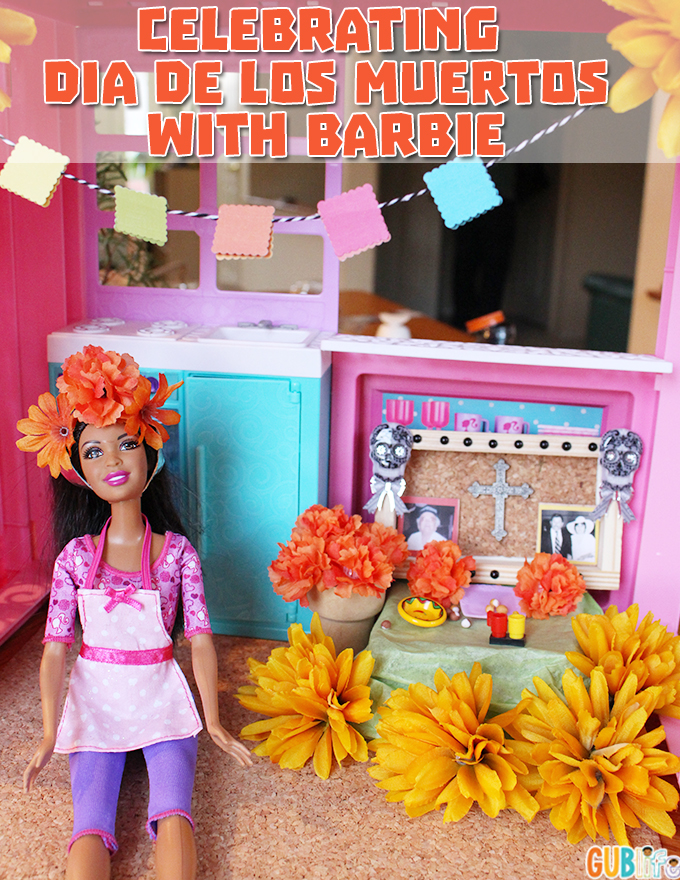 day of the dead with Barbie