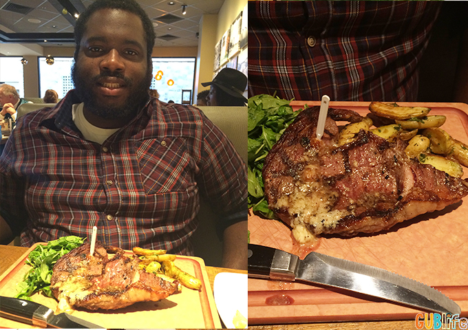 Fire-Grilled Ribeye at CPK