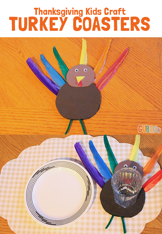 TURKEY COASTERS KIDS ACTIVITY