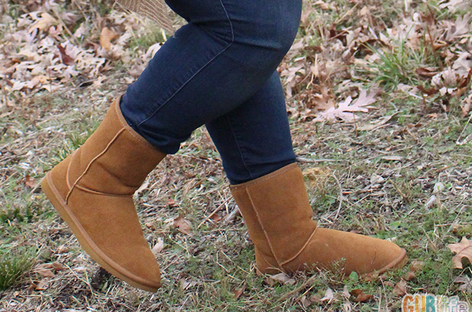 plussize style- genuine leather boots