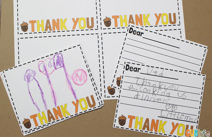 teaching kids to be thankful
