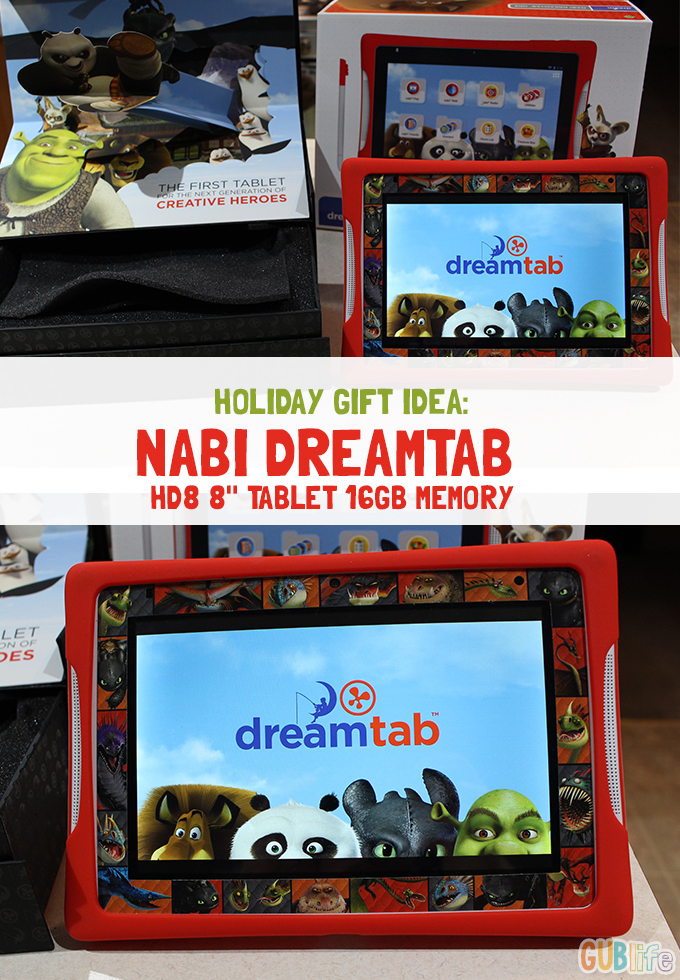 HOLIDAY GIFT NABI DREAMTAB HD8