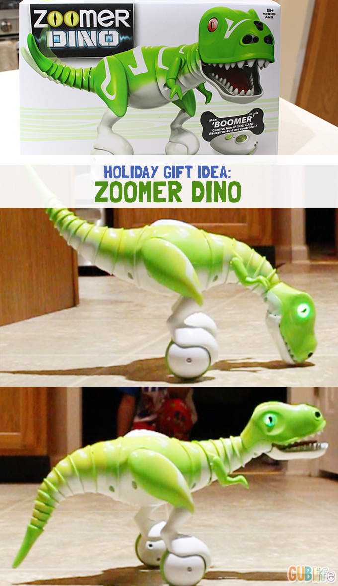 Holiday gift idea zoomer dino-