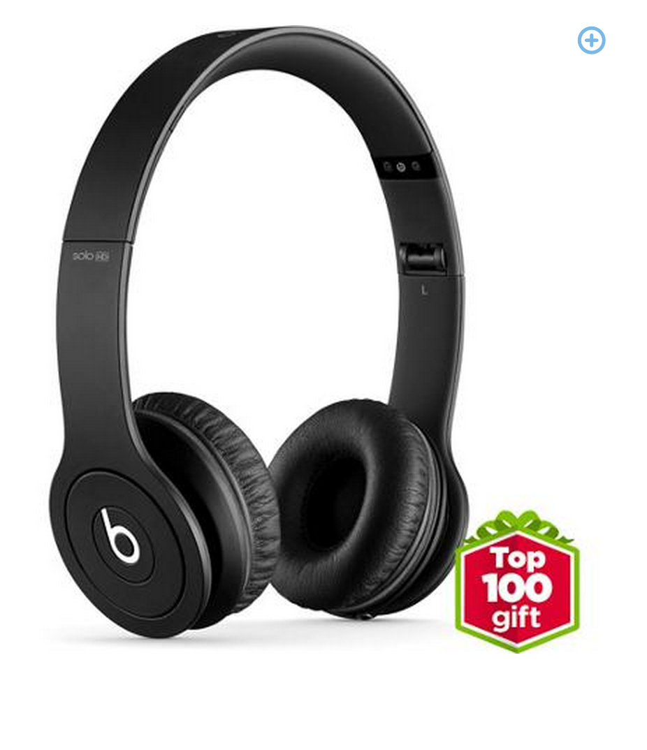 top 100 gifts Beats by Dre Drenched Solo on ear headphones