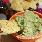 Margarita Guacamole with Casa Noble Tequila