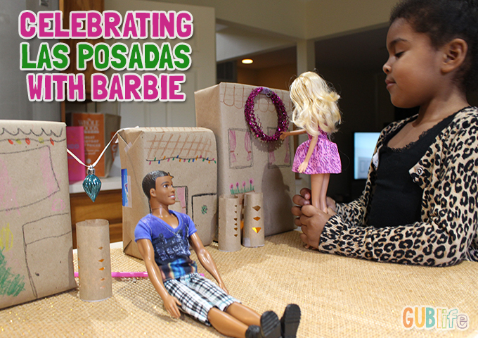 diy las posadas celebration con barbie-