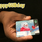Starbucks Giveaway: You Don't Have to be TALL or Grande to Win #HappyGUBday