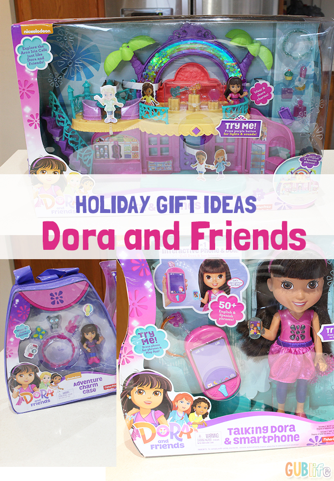 holiday gift idea dora and friends