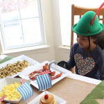 Peter Pan Themed Breakfast Party