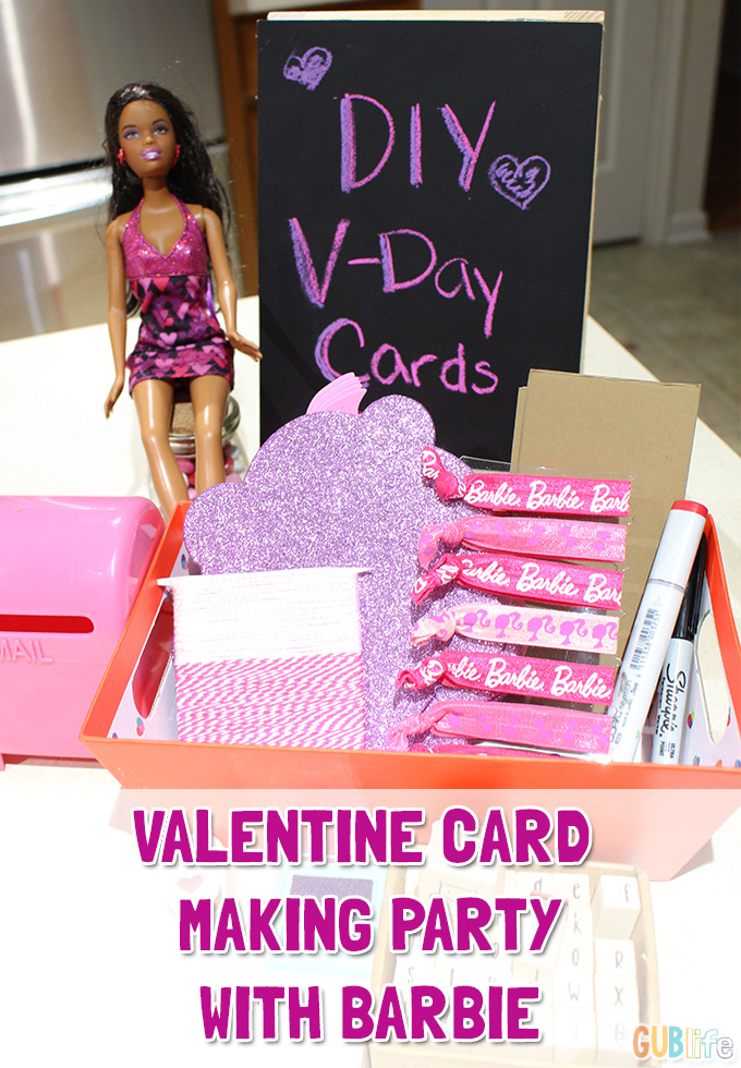Valentine Card Making party