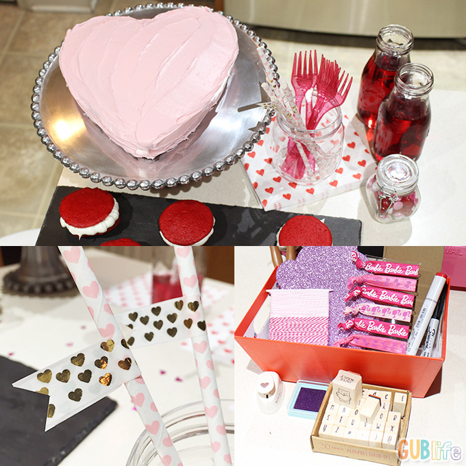 barbie valentine party