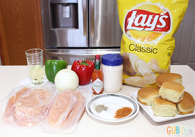 blackened chicken sliders ingredients