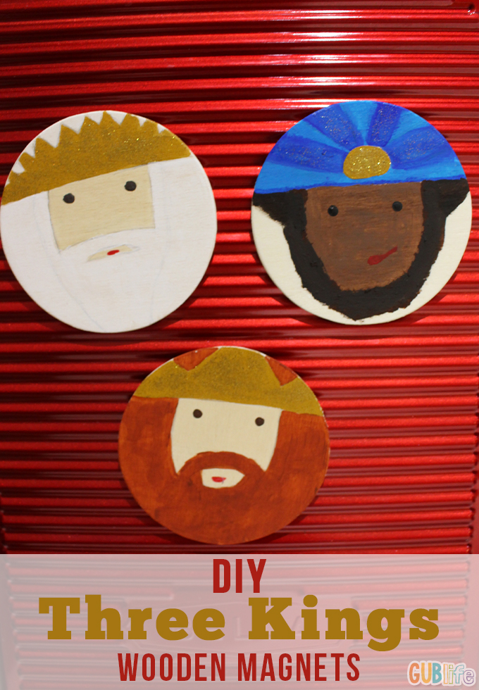 diy three kings magnets