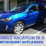 Family Vacation in a Mitsubishi Outlander