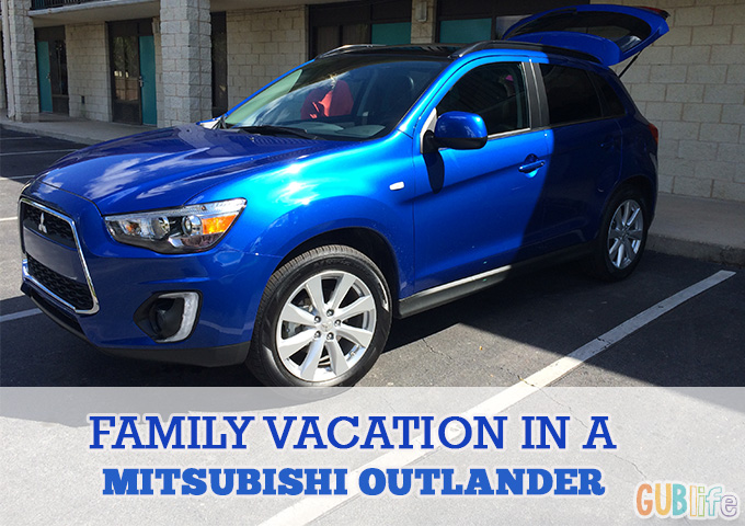 family vacation mitsubishi outlander